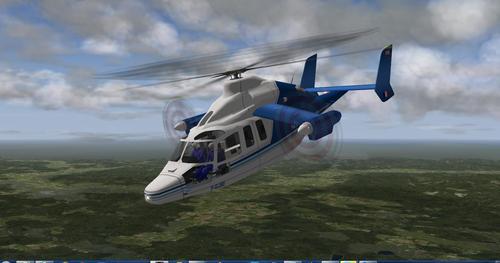 ევროკოპტერი X3 X1 X-Plane  10