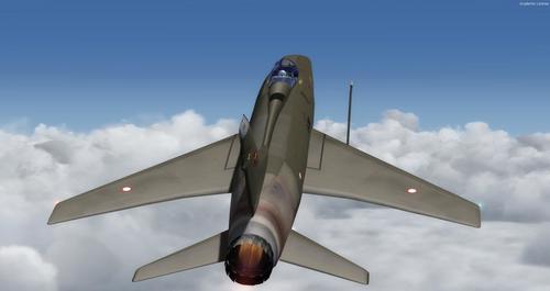 North American F-100C Super Sabre CWDT FSX & P3D