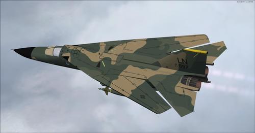 F-111 PIG HUD Project Navigation Situation FSX & P3D