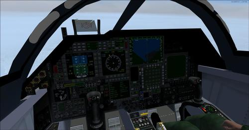 F-111 PIG HUD Project Navigation Situation FSX & P3D