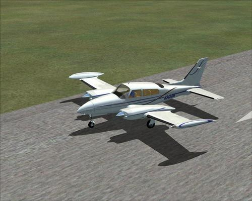 FSND Cessna C310Q FSX