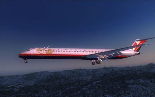 FSND McDonell-ዳግላስ MD-83 FSX