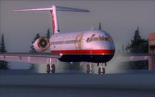 FSND McDonell-Douglas MD-83 FSX