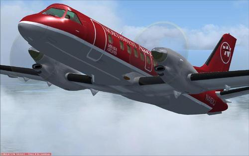 FSND Saab 340 FSX