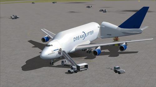 ВМФ Боинг 747-400LCF Dreamlifter FSX