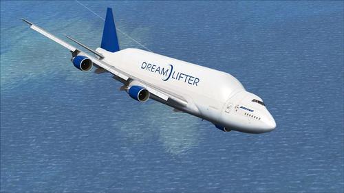 FSP Boeing 747-400LCF Dreamlifter FSX