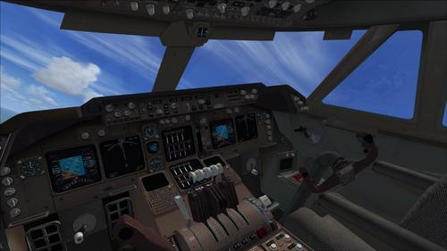 БАО Боинг 747-400LCF Dreamlifter FSX