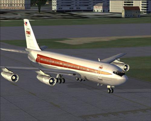 FSND ဘိုးအင်း 707-420 2013 FSX  &  P3D