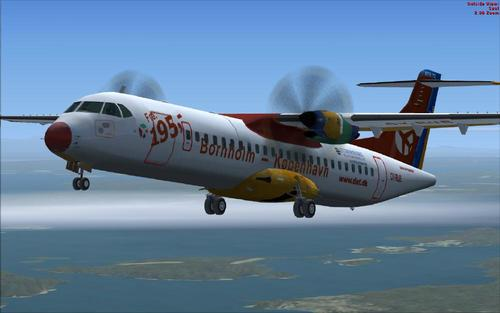 ATR 72-500 Danemark Package FS2004