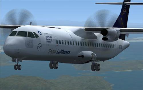 ATR-72 500 Danemarca Pachet FS2004