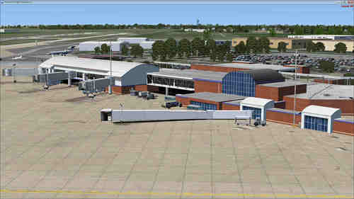 Aeroporto de Fort Wayne Intl FSX / Steam