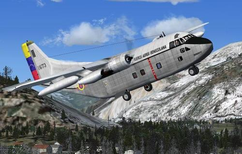 Fairchild C-123 K Provider Package para sa FSX