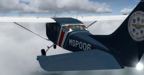 FlightPort Cessna U206G Soloy Марк 1 FSX  &  P3D