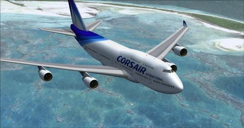 Corsair Internasionale vloot FSX & P3D