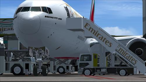 Emirates Fleet FSX + P3D