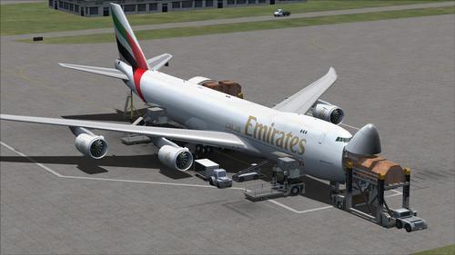 Flotte Emirates FSX & P3D