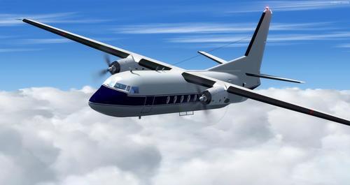 Fokker 27 Famylje FSX  &  P3D