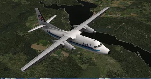 ഫോക്കർ F27-600 1.1 X-Plane  10