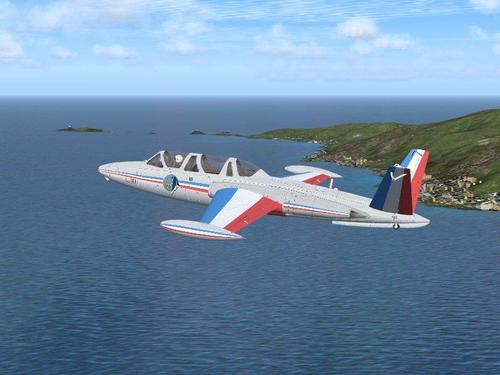 Fouga ማጂስተር CM170 v1.1 FSX