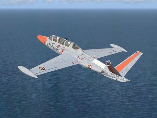 Fouga Zéphyr CM175 v1.1 FSX
