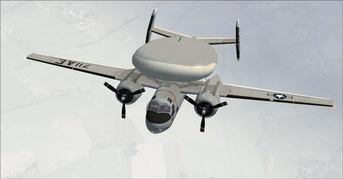 Grumman E1B Tracer FSX र P3D