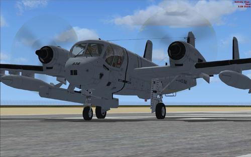 Grumman OV-1 အဘိဓါန် Mohawk စီးရီးစူပါ-Pack ကို FSX-SP2