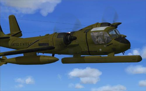 Grumman OV-1 Mohawk Series Super-Pack FSX-SP2