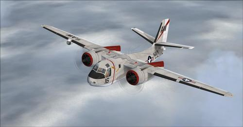 Grumman S2F-3 Tracker FSX ۽ P3D پيڪيج