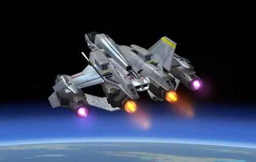 HALO 4 YSS-1000 Sable Starfighter FSX  &  P3D
