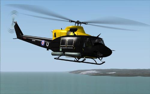 Bell HC412 Agusta/Griffin AB412 Hovercontrol FS2004