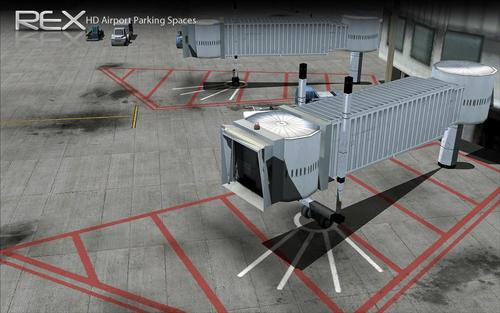 HD Jetway eta aireportua Parking FSX & P3D