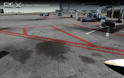 HD Jetway and Airport Parking FSX