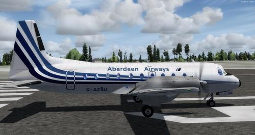 Hawker-Siddeley HS.748 FSX a P3D