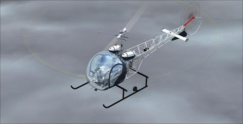 Bell Helicopter 47 FS2004