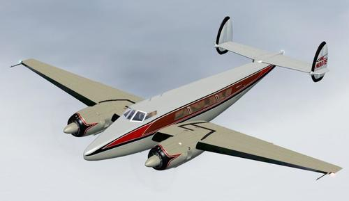 Konsep Howard 350 FSX native FSX  &  P3D