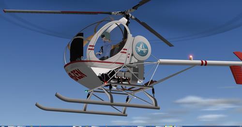 Хјуз 300C X-Plane  10