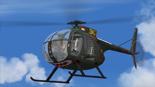 Hughes OH-6A FS2004