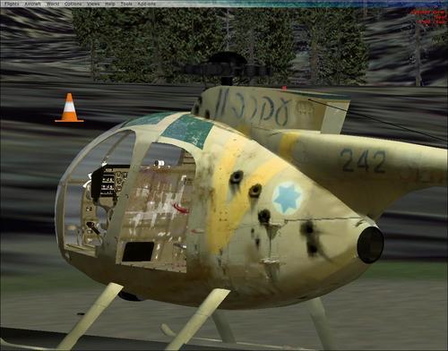 Hughes OH-6 serie FSX
