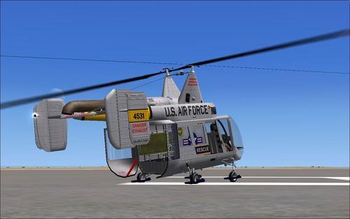 Kaman HH-43 Huskie FSX e P3D