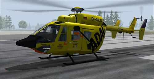 ICARO BK117 Final Edition csomag FS2004