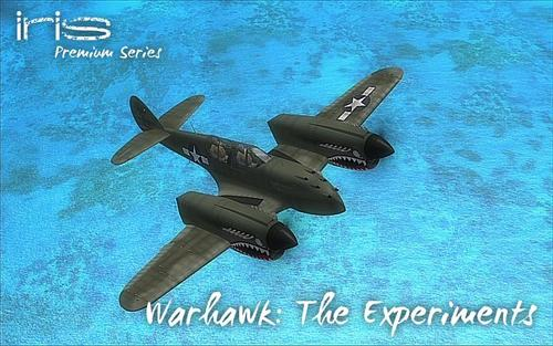 IRIS P-40 Warhawk - The percobaan FSX  &  P3D