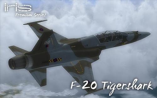 IRIS F-20 Tigershark FSX & P3D