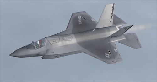IRIS က F-35B Scimitar FA.2 FSX  &  P3D