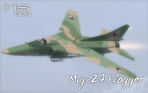 IRIS Mig-27 Gunging FS2004