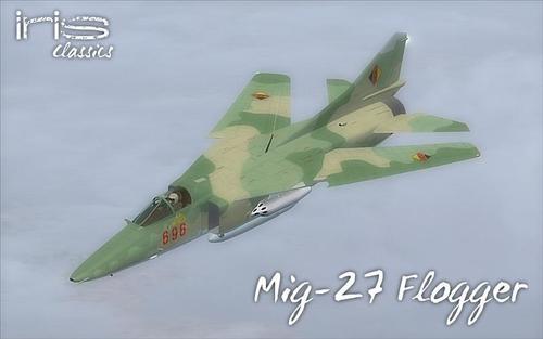 IRIS Mig-27 Flogger FS2004