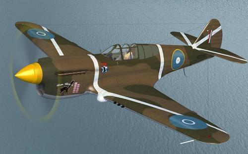 Дүйнө P-40 Warhawk FSX