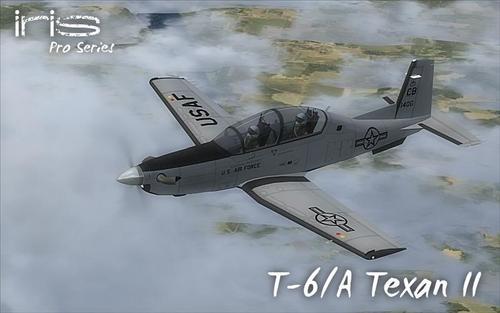 बुबुळ टी-6A Texan दुसरा FSX आणि P3D