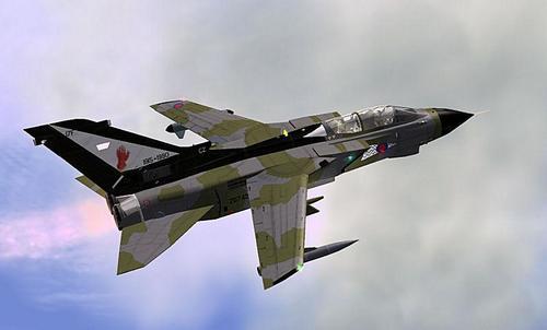IRIS လေဆင်နှာမောင်း GR4 FSX-SP2