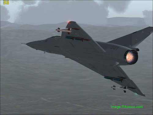Atlas Cheetah E Interception FS2004