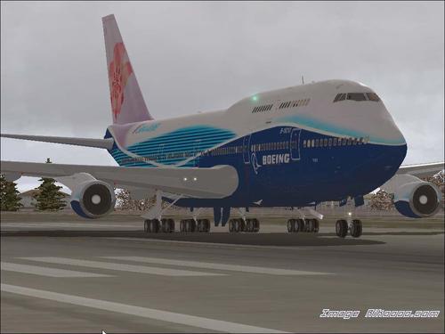 ဘိုးအင်း iFly 747-400 FS2004